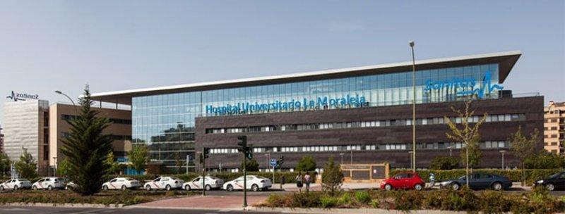 Structure layout and maps hospital la moraleja sanitas for Sanitas madrid oficinas